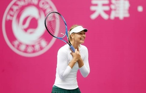 Мария Шарапова одержала первую победу после дисквалификации
