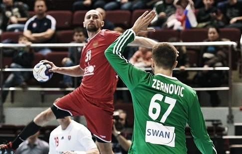 Сборная РФ погандболу одолела Словакию вквалификацииЧМ