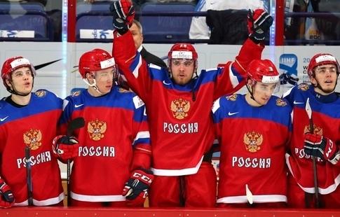 В Российской Федерации представили свитер сборной похоккею наОлимпиаде
