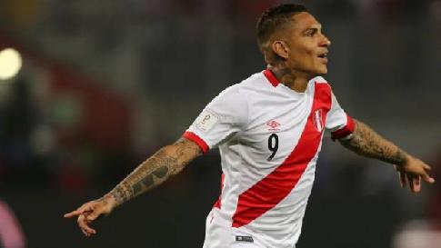 Перуанский форвард Герреро временно отстранен на30 дней заположительный допинг-тест