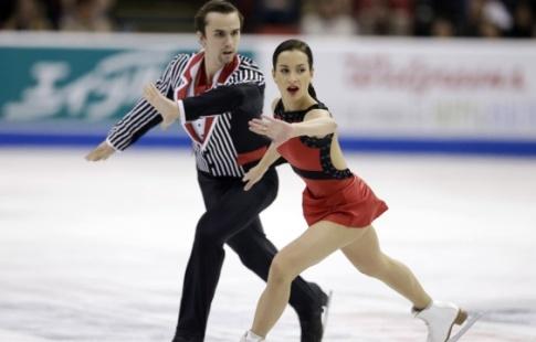 Китайская пара фигуристов выигралаГП вОсаке срекордом, жители России вторые