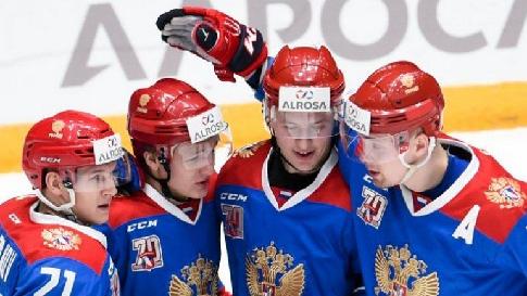 Хоккеисты олимпийской сборной РФ разгромили немцев в стартовом матче Кубка Германии