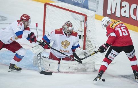 Русские хоккеисты разгромили команду Швейцарии