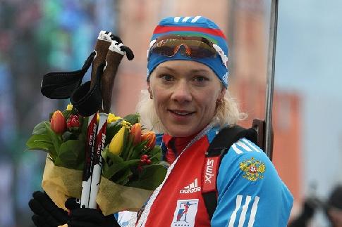 МОК обвинил еще одну российскую биатлонистку вмахинациях сдопинг-пробами