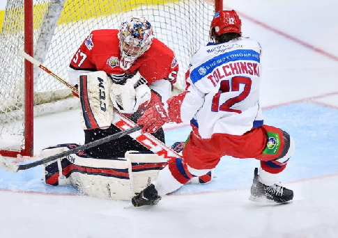 Молодежная сборная Российской Федерации  проиграла команде лиги Онтарио