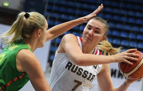 Русские баскетболистки обыграли сборную Литвы вматче отбораЧЕ