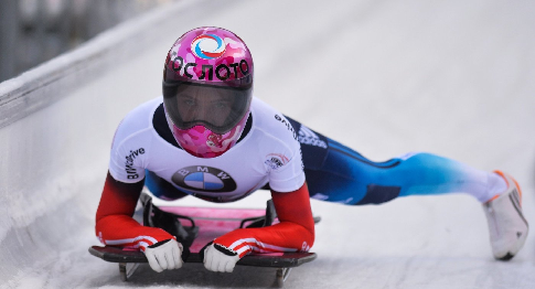 Елена Никитина— победительница американского этапа Кубка мира поскелетону!