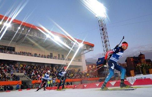 У РФ отобрали этап Кубка мира побиатлону