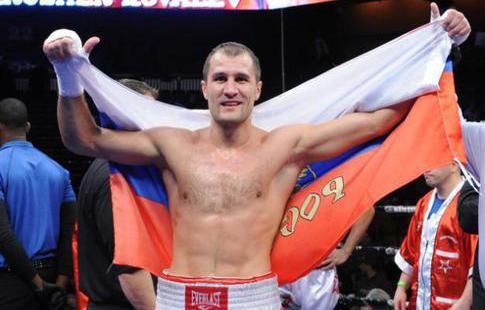 Шабранский оказался тяжелее Ковалёва навзвешивании перед боем затитул WBO