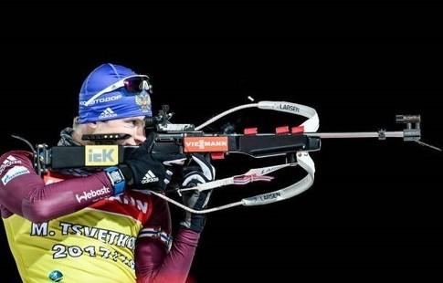 Биатлон. Надежда Скардино выиграла персональную гонку наКубке мира