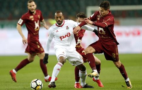 «Локомотив» вырвал победу над «Рубином» вматче премьер-лиги