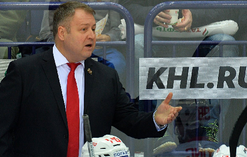 Хоккейная «Сибирь» поменяла главного тренера