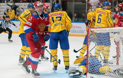 Наматче Кубка Первого канала похоккею РФ - Канада ожидается аншлаг