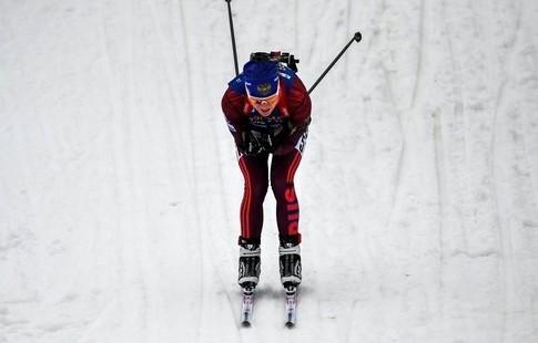 Биатлон. Вита Семеренко прошляпила медаль гонки преследования вАнси