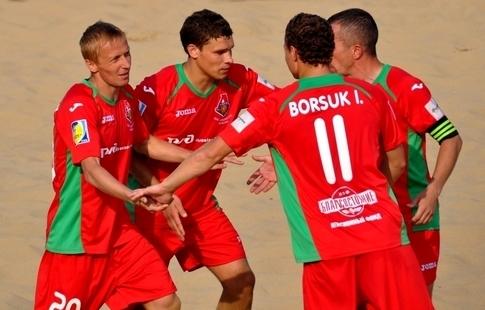 Московский «Локомотив» одержал победу  клубный чемпионат мира попляжному футболу