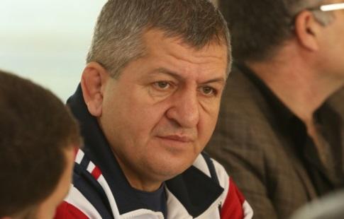 Боец MMA Хабиб Нурмагомедов полон решимости перед боем