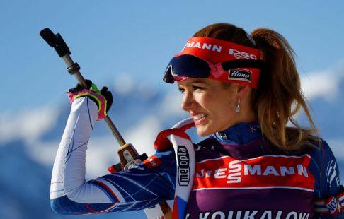 Биатлонистка Коукалова: две самые ценные награды явыиграла, лежа вкровати
