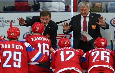 Российская Федерация проиграла Чехии намолодежном чемпионате мира похоккею