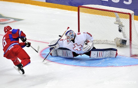 Белорусские хоккеисты уступили швейцарцам намолодежномЧМ вБаффало