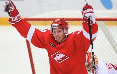 «Спартак» побил рекорд посещаемости домашних матчей вЧР похоккею