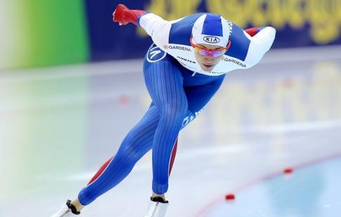 Российская конькобежка Голикова завоевала серебро чемпионата Европы надистанции 500м