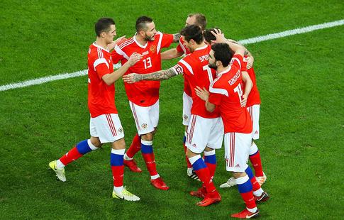 Сборная Российской Федерации  пофутболу сыграет сТурцией в столицеРФ