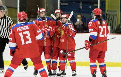 Женская молодёжная сборная РФ обыграла Финляндию вчетвертьфиналеЧМ