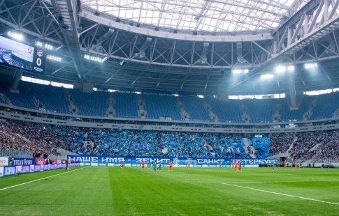 Зенит оштрафован на 30 000 евро заповедение фанатов