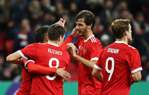Сборная Российской Федерации пофутболу поднялась надве позиции врейтинге FIFA
