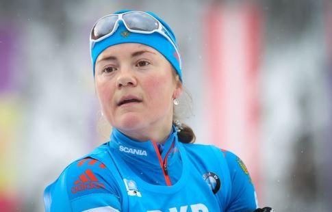 Домрачева выиграла масс-старт вАнтхольце