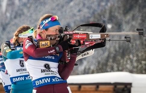 Биатлон: гонку преследования вАнтхольце выиграла Дальмайер; Вита Семеренко— 17-я