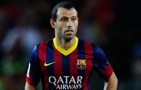 «Барселона» подтвердила уход футболиста Маскерано изклуба