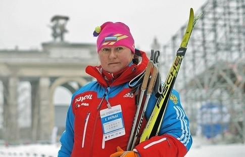 Русские лыжницы показали превосходный результат— Елена Вяльбе