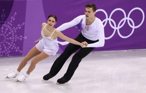 Жители России стали третьими в различной программе спортивных пар накомандном турнире