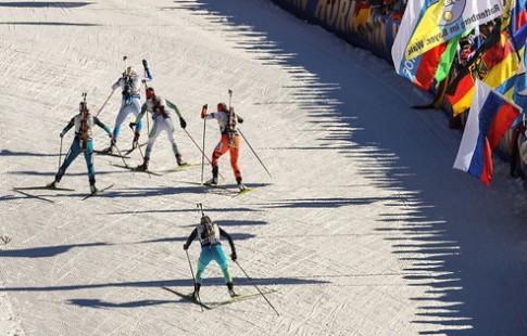 Германский  биатлонист Арнд Пайффер стал победителем спринта наОлимпиаде 1