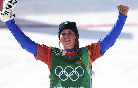 Итальянка Мойоли выиграла золото Олимпиады всноуборд-кроссе