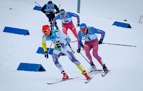 Русские лыжники завоевали серебро вэстафете 4х10 наОлимпиаде вПхёнчхане