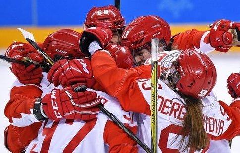 Хоккеистка Канаева'Родные рассказывают что вся Россия говорит о нашем успехе на ОИ-2018