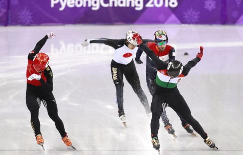 «Золото» Олимпиады-2018 вэстафете ушорт-трекистов завоевала команда Венгрии
