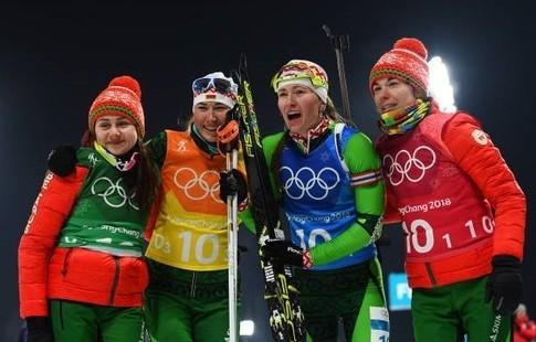 Бьёрндален – о победе белорусок в эстафете'Счастлив за Дашу и всю её команду