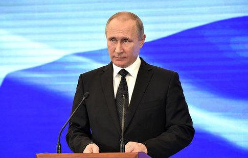 Путин вКремле вручит госнаграды российским спортсменам-призерам Олимпиады вПхёнчхане