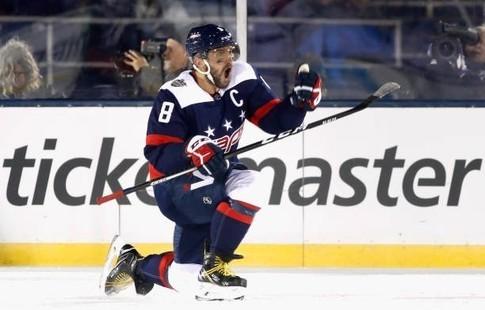 Овечкин забросил 40-ю шайбу всезоне истал 2-ой звездой дня НХЛ