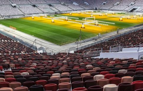Столичные «Лужники» признаны лучшей футбольной ареной 2017 года вмире