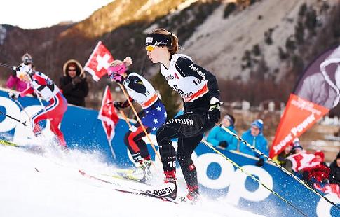 Александр Большунов завоевал еще одну «бронзу» этапа Кубка мира