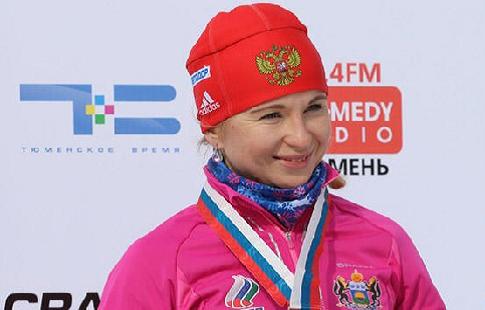 Российская биатлонистка Услугина выиграла индивидуальную гонку на этапе Кубка IBU