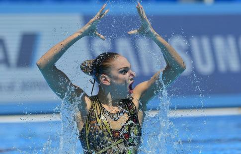 Напервом этапе Мировой серии украинские синхронистки завоевали 8 наград