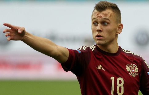 Дзагоев работает по особой программе врасположении сборной Российской Федерации