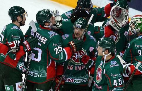 «АкБарс» и«Салават Юлаев» повели в собственных сериях наВостоке КХЛ