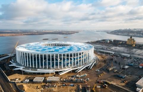 Окончено строительство еще одного стадиона, накотором пройдут матчиЧМ