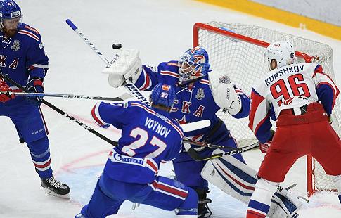 Финал КХЛ: ЦСКА навыезде обыграл СКА